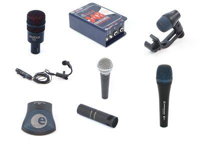 Microphones + DI