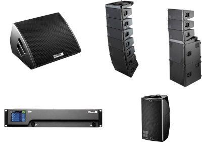 Speakers + Amps